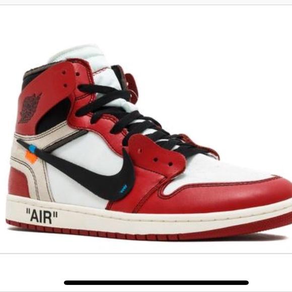 Off white x Air Jordan 1 retro high og